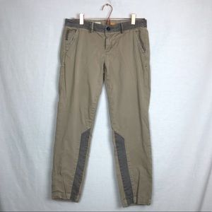 Pilcro & the Letterpress Hyphen khaki pants